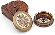 """""""Not all those who wander are lost"""" Solid Brass Comp"""