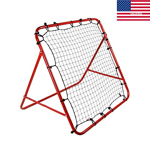 SHENGXIA Multi-Sport Folding Training Rebounder Net for Baseball Football Lacrosse Goal Soccer US Stock – Sports Center Store