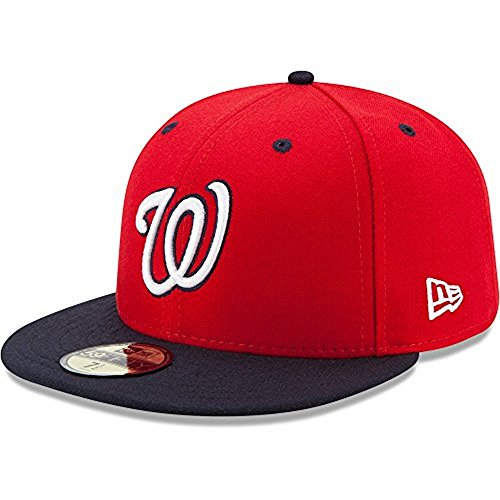 New Era 59FIFTY Washington Nationals MLB 2017 Authentic Collection On-Field Alternate2 Fitted Hat Size 7 3/4