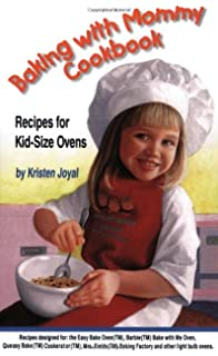 Easy bake real meal oven amazon home kitchen baking with mommy cookbook recipes for kid size ovens forumfinder Images