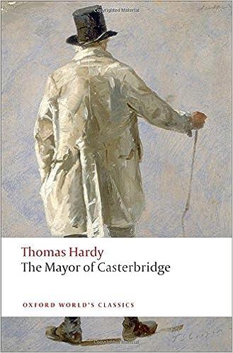 Audiolibros gratis para reproductores de mp3 para descargar Oxford World's Classics: The Mayor of Casterbridge (World Classics) en español PDF FB2 iBook