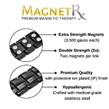MagnetRX® Ultra Strength Magnetic Therapy Bracelet - Arthritis Pain Relief and Carpal Tunnel Magnetic Bracelets for Men - Adjustable Length with Sizing Tool