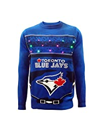 Toronto Blue Jays Baseball Field Light Up Sweater
