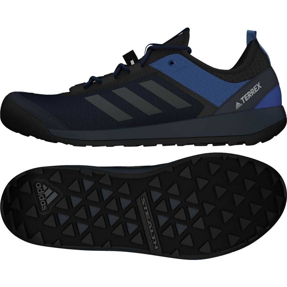 Bleu (Navy Cm7633) adidas Terrex Swift Solo Cm7633, baskets Basses Homme 43 1 3 EU