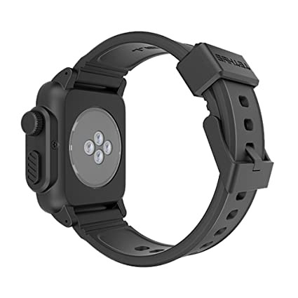 new product 0f7d2 fbf59 TETHYS WATERPROOF CASE for Apple Watch 38MM ONLY (Updated) (Sport ...
