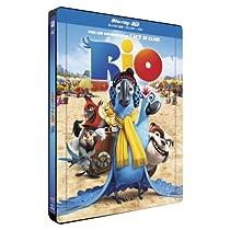 Rio [Combo Blu-ray 3D + Blu-ray + DVD - Édition boîtier SteelBook]