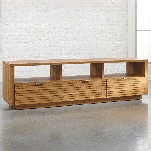 Collection Tv Credenza (Sauder Harvey Park Entertainment Credenza, Pale Oak)