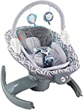 Fisher-Price 4-in-1 Rock 'n Glide Soother, Grey/Blue