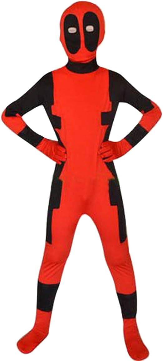 QQWE Disfraz de Deadpool Disfraz X-Men Deadpool niños Cosplay ...