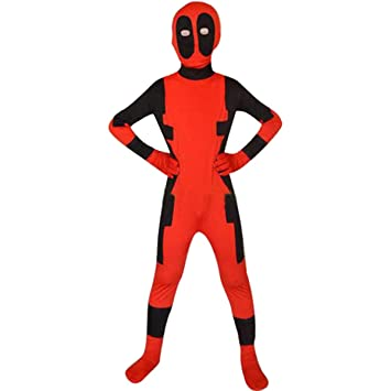 QQWE Disfraz de Deadpool Disfraz X-Men Deadpool niños ...
