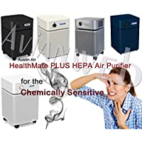 Austin Air Healthmate PLUS Air Purifier – For the Chemically Sensitive (Sandstone)