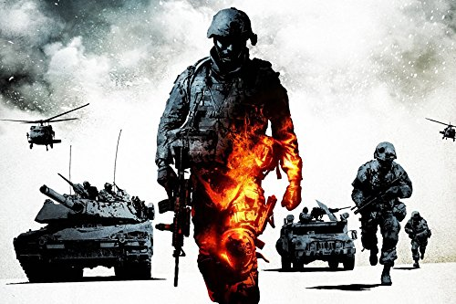 makeuseof G240 medal of honor warfighter Game Poster Art Wall Pictures for Living Room in Canvas fabric cloth Print (Medal Of Honor Warfighter Poster)
