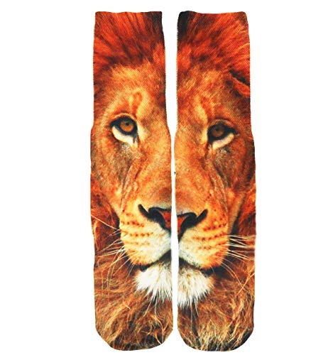 Unisex Crazy Fun Cool 3D Print Colorful Athletic Sport Novelty Crew Tube Socks Best Gift -