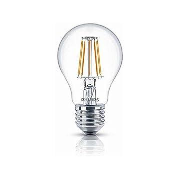 Philips Led Lampe E27 4 3w Warmweiss 470lm Klar Amazon Co Uk