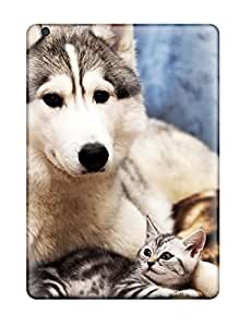 Hot New Cat And Dog Protective Ipad Air Classic Hardshell Case