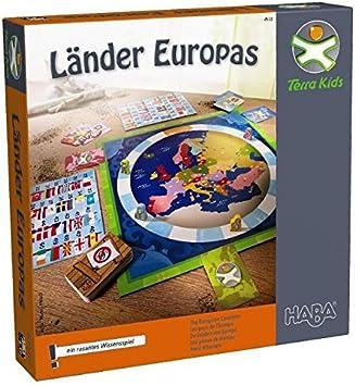 HABA- Terra Kids, Los países de Europa (303108): Amazon.es: Juguetes y juegos
