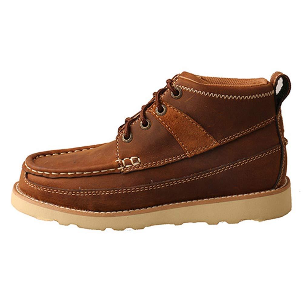 Twisted X Boots Boys Oiled Saddle Wedge Casual 5.5 Oiledsaddle
