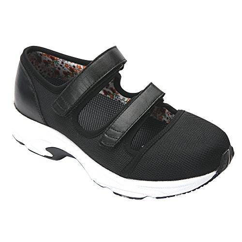 Drew Women's Sport Athletic Shoe Mesh Solo Sneakers Mesh Black rAF7rCwqR