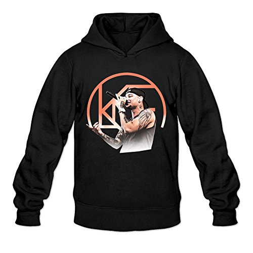 NIHAO Kane Brown Ain't No Stopping Us Now 100% Cotton Male Sweatshirt Black XXL (Kane Brown Ain T No Stopping Us Now)
