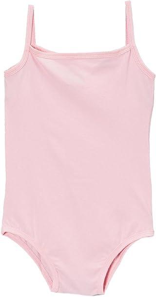 7c9873da42eb Amazon.com  Wenchoice Girl s Pink Spaghetti Strap Leotard  Clothing