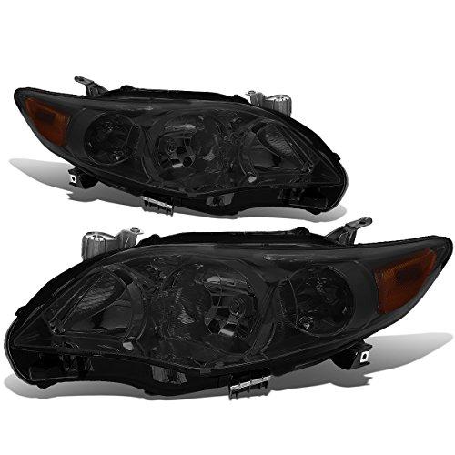 - For Corolla Sedan Pair of Smoked Lens Amber Corner Headlight Kit