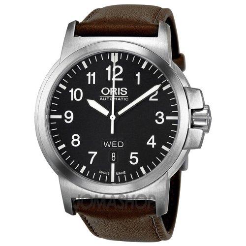 Oris BC4 día Retrógrada automático hombre reloj 735 - 7617 - 4164-mb: Oris: Amazon.es: Relojes