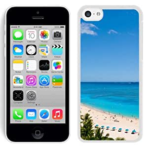 New Beautiful Custom Designed Cover Case For iPhone 5C With Waikiki Beach And Pacific Ocean (2) Phone Case