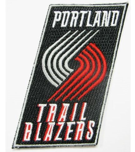 Military Blazer Badges (PORTLAND TRAILBLAZERS BASKETBALL EMBROIDERED VELCRO PATCH (BTDW))