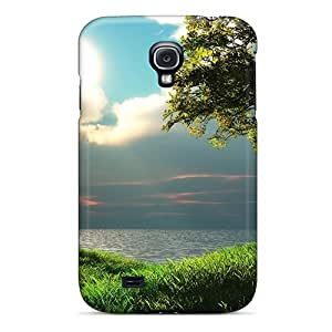 Durable Case For The Galaxy S4- Eco-friendly Retail Packaging(down At The Lake)
