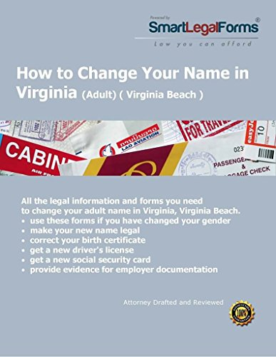 VA Adult Name Change (Virginia Beach) [Instant Access] by SmartLegalForms, Inc.