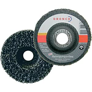 Dronco 6700001 - Disco GRV de nylon sin tejer de 115 x 22 mm
