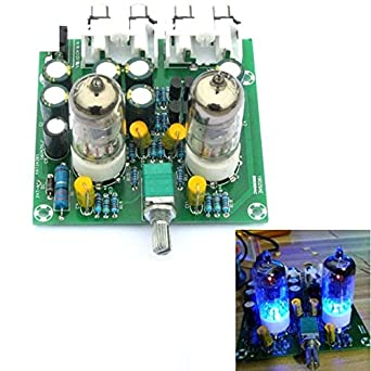 Amazon com: Fever for 6J1 Electronic Tube Preamplifier Board DIY