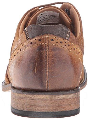 Steve Madden Men's Jumboe Oxford, Dark Tan, 10.5 M US