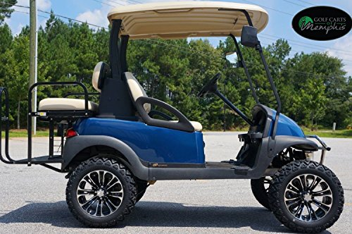 Club Car Precedent Golf Cart 6 Lift Kit 14 Vector Wheels And 23