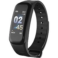 VOSAREA Smart Polsbandjes Fitness Tracker Hartslagmeter Slaapmonitor Bloeddrukmeter Armband Kleur Scherm Bluetooth 0.96…