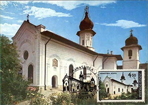 agapia-monastery-targu-neama-romania-original-vintage-postcard