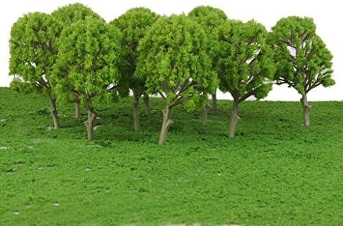 sharprepublic 1/100スケール モデルツリー 樹木 桑の木 鉄道模型 電車模型 マイクロ風景 ジオラ 手作りキット 10個