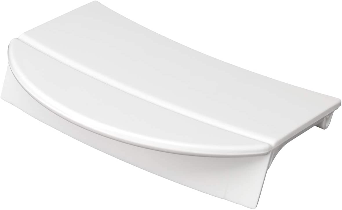 MIRTUX Maneta para Apertura y Cierre de Puerta Lavadora Balay, Bosch, LG, Lynx y Siemens. Color Blanco. Códgo de recambio: 418346
