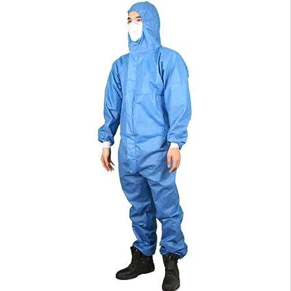 WHNS Ropa de protección química Traje Anti-partículas ...