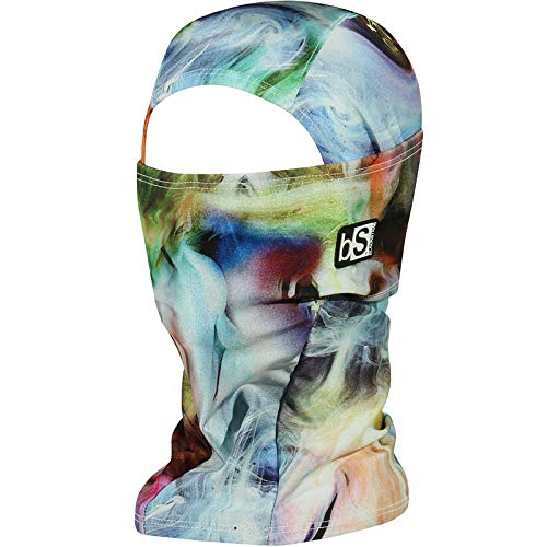 BLACKSTRAP Hood Balaclava Face Mask, Dual Layer Cold Weather Headwear for Men and Women, Smoke
