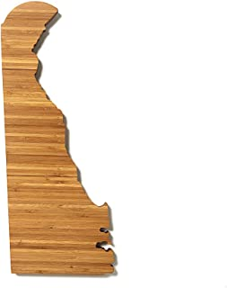 product image for AHeirloom State of Delaware Cutting Board, 16 Inch, Amber