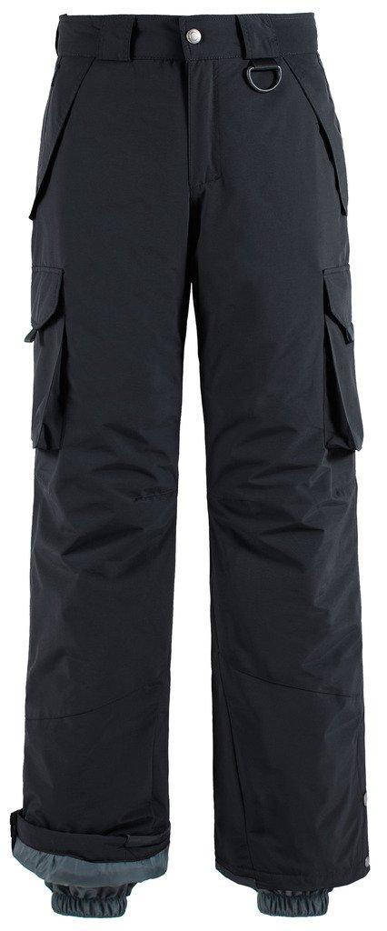 Wantdo Men's Outdoor Windproof Snow Insulated Fleece Ski Bib Pants