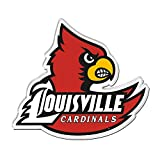 NCAA University of Louisville Premium Acrylic Carded Magnet
