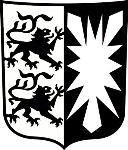 Metall Design Dithmarschen Schleswig Holstein Das Wappen Amazon