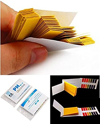 160 Tester Foremost Popular pH Test Strips Practical Urine and Saliva Laboratory with Colors Chart