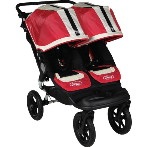 Baby Jogger City Elite Double Stroller Red Sport Discontinued By