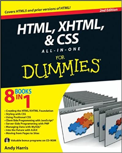 HTML, XHTML and CSS All-In-One For Dummies: Andy Harris