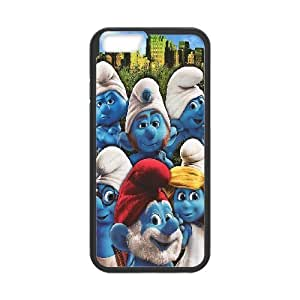 the Smurfs Case Cover For SamSung Galaxy S3 the Smurfs Family Protective for GirlS Phone Case Cover For SamSung Galaxy S3 for Men Protective for Girls [Black]