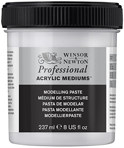 Winsor & Newton Professional Acrylic Medium Modelling Paste, 237ml