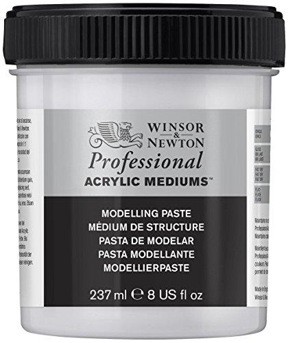 - Winsor & Newton Professional Acrylic Medium Modelling Paste, 237ml